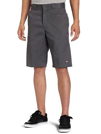 Dickies Mens 13 Inch Relaxed Fit Multi-Pocket Work Short, Charcoal, 33