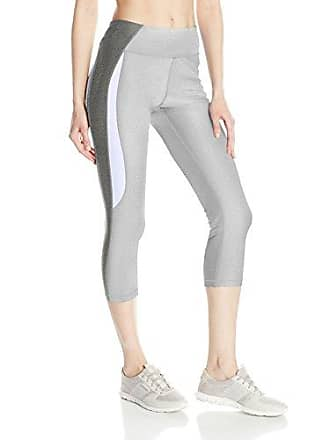 8861a148a9c9e Gottex Womens Side Curved Color Block Capri, Light Grey S