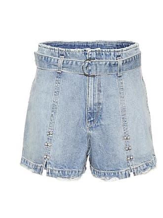 Jonathan Simkhai Embellished denim shorts