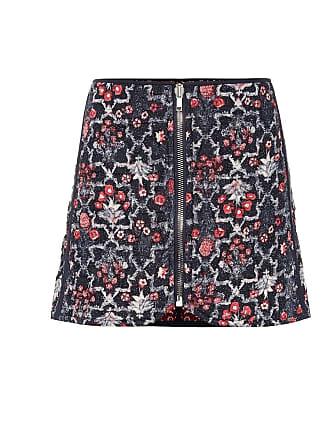 Isabel Marant Printed linen miniskirt