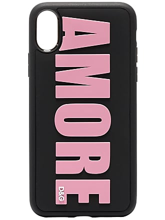 Dolce & Gabbana Capa para iPhone X Amore - Preto