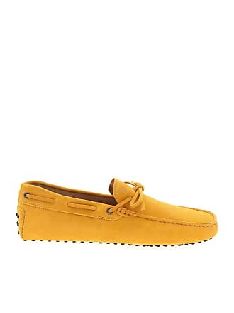 Tod's Loafer in mustard yellow with buttonhole