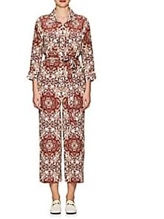 a8b41a8aea2b L agence Womens Delia Silk Belted Jumpsuit - Wine Size 12