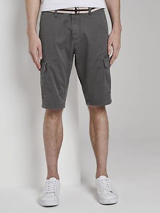 Tom Tailor Gemusterte Cargo-Shorts mit Gürtel