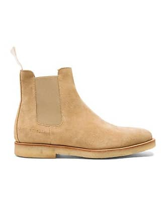 b051502bb947 Common Projects Suede Chelsea Boots in Neutrals