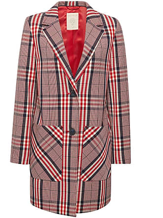 fb4dffde623 Esprit Manteau imprimé écossais Multicolore Esprit