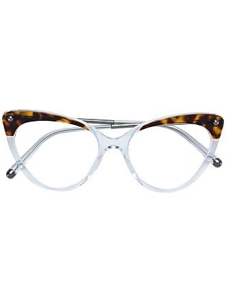 Dolce & Gabbana Eyewear Óculos de grau gatinho - Branco