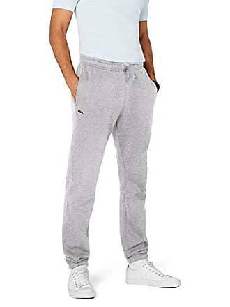b399bf6150 Lacoste Pantalons de survêtement - Relaxed - Homme, Gris (Argent Chiné), X