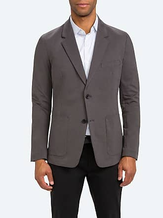 Ministry of Supply Mens Charcoal Stretchy Wrinkle Free and Water Repellent Kinetic Blazer XXL