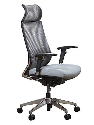 Unique Furniture Gray CEO High-Back Office Task Chair - 5400