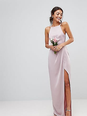 c7d52ff869e Asos Tall ASOS DESIGN Tall drape front strappy back maxi dress