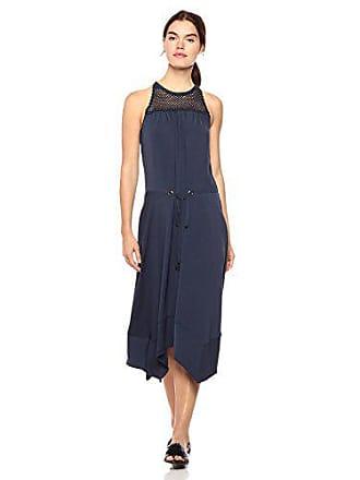 Ramy Brook Womens Lylah Dress, Navy Extra Small
