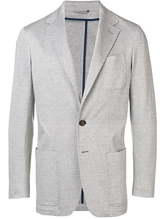 Canali straight fit blazer - Grey
