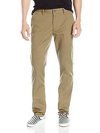 Rvca Mens The Weekend Chino Pant, Dusky Green, 33