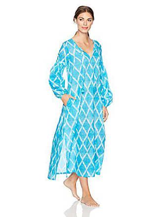 Natori Womens Printed Woven Sleepshirt, Blue Velvet, S