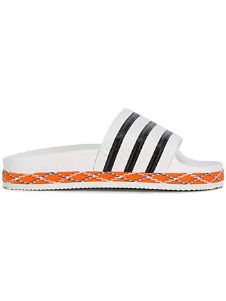 Bold New claquettes Blanc adidas Adilette f76AHxAwq