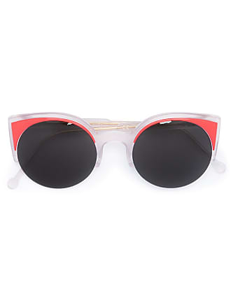 ceaaedf4908 Retro Superfuture Lucia Surface Coral sunglasses - Red