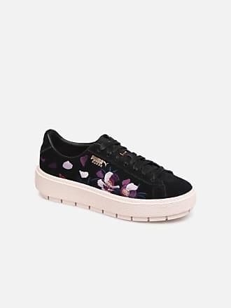 788993440cf Puma Wn Platform Trace Flowery - Sneakers voor Dames / Zwart