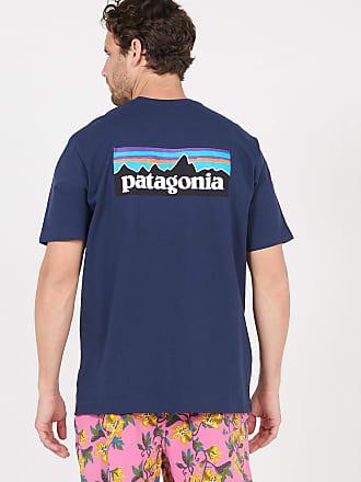 Patagonia Tee-shirt col rond regular-fit sérigraphié en coton mélangé