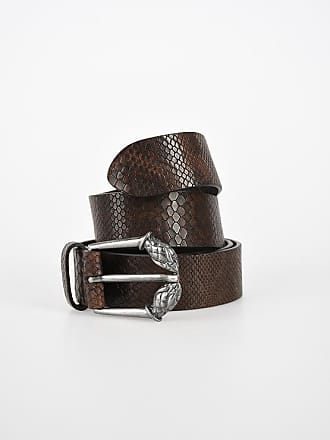 Just Cavalli 35mm Leather Printed Belt size 95