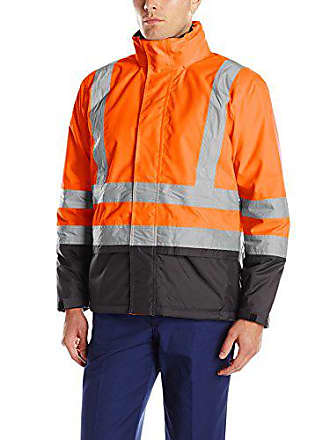 dba72c4ca7 Helly Hansen Workwear Mens Altra High Visibility Insulated Jacket, High Viz  Orange/Charcoal,