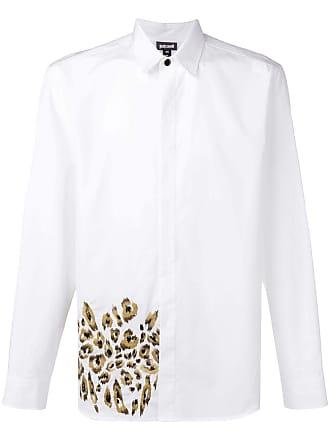 Just Cavalli Camisa com bordado - Branco