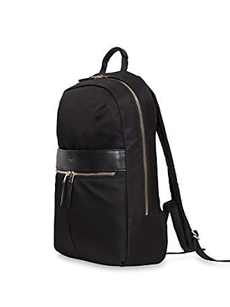 Knomo Luggage Womens Mayfair Nylon Beauchamp Backpack 14, Black, One Size
