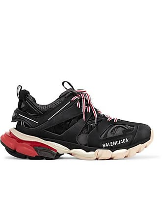 a03ad220ca971 Balenciaga Track Logo-detailed Mesh And Rubber Sneakers - Black
