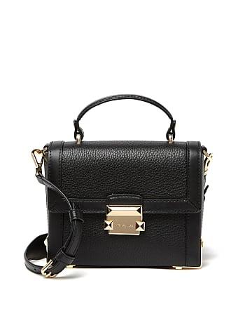 64c24d6a0684 Michael Kors Jayne Small Leather Trunk Shoulder Bag