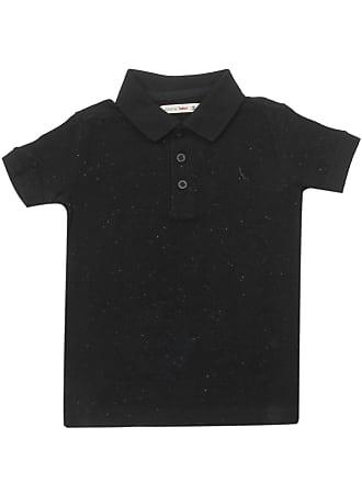 Reserva Mini Camisa Polo Reserva Mini Menino Lisa Preta