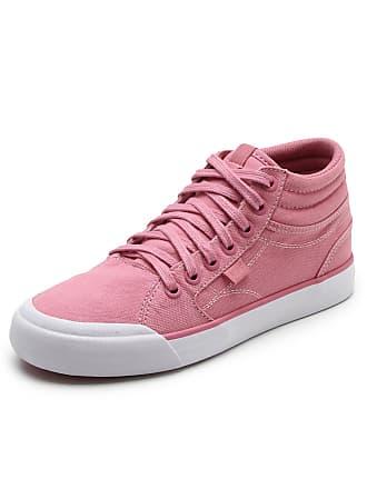 DC Tênis DC Shoes Evan Hi Tx Imp Rosa