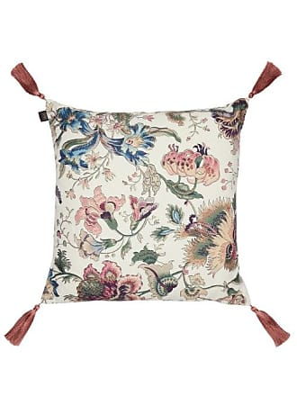 House of Hackney Majorell Large Floral-print Canvas Cushion - Beige