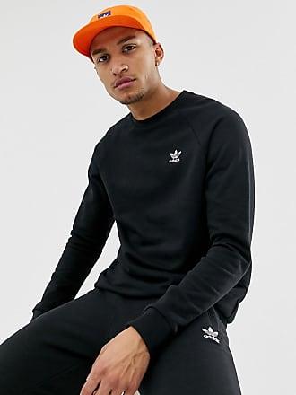 dcb9e4cd2b16 adidas Originals Adidas Originals Essentials Sweatshirt Small Logo DV1600  Black - Black