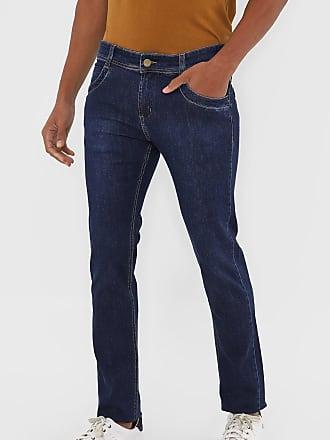 Sawary Calça Jeans Sawary Skinny Lisa Azul-Marinho