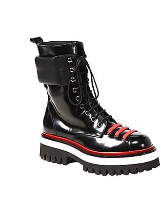 Jessica Buurman BIETO Lace Up Leather Biker Ankle Boots 91e6ca3b9d