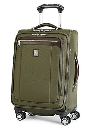 Travelpro Platinum Magna 2 International Carry-On Expandable Business Plus Spinner Carry-On Suitcase, 20-in., Olive