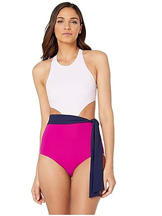 1caf2777580 Flagpole Lynn One-Piece with Sash (Petal Multi) Womens Swimsuits One Piece