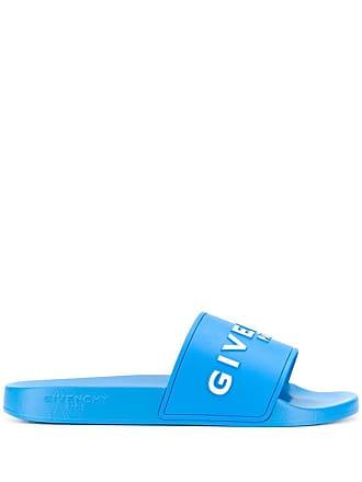 Givenchy logo slides - Azul