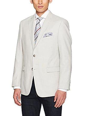 U.S.Polo Association Mens Hopsack Sport Coat, WIN3017J Grey, 46 Long