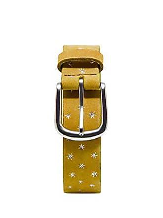 358b15a0d EDC by Esprit Accessoires 078ca1s003 Cinturón, Amarillo (Honey Yellow 710),  90 (