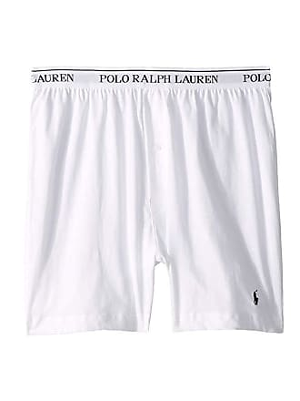 725853bd8eb Polo Ralph Lauren Classic Fit w/ Wicking 3-Pack Knit Boxers (White/