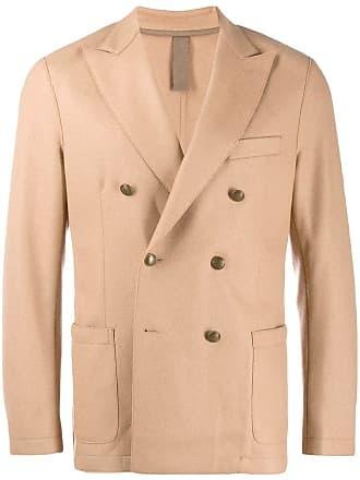 Eleventy double breasted blazer - Marrom