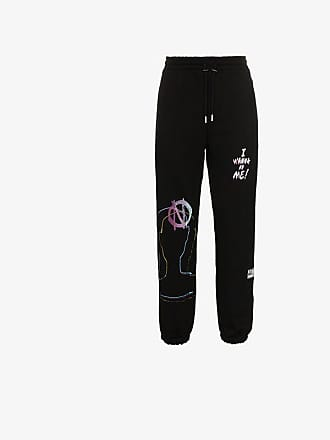 99% IS CSTM painted cotton sweat pants