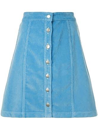 être cécile corduroy short skirt - Blue