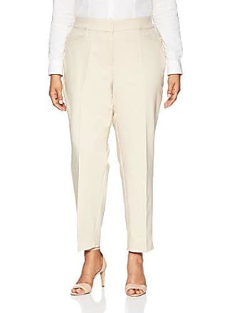 ee3251111 Rafaella Womens Plus Size Lightweight Satin Twill Ankle Pant, Stone, 20W