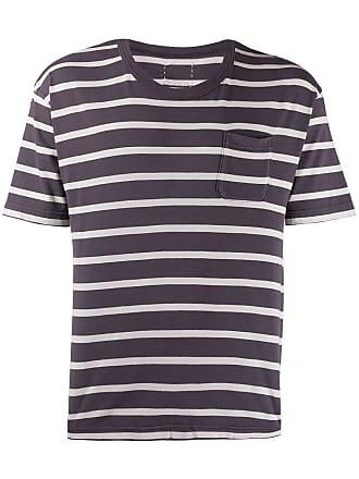 Visvim striped T-shirt - Azul