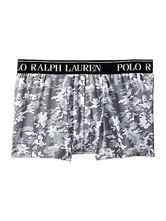 Polo Ralph Lauren Cotton Stretch Jersey Pouch Boxer Brief White Camo Mens Underwear
