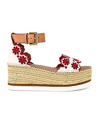 See By Chloé Glyn Platform Sandal in Cream