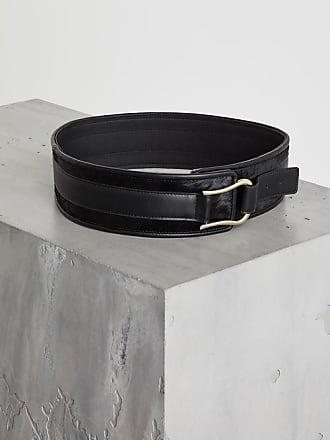 BCBGeneration Faux Leather Pony-Trimmed Belt