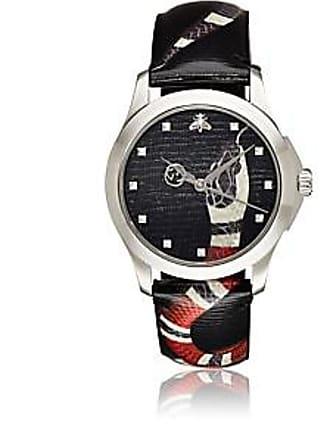 4d5677af216 Gucci Mens Le Marché des Merveilles Stainless Steel Watch - Gray